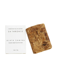 Alata Samina Black Soap Detox Bar