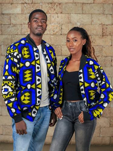 Odongo Samakaka Print Jacket