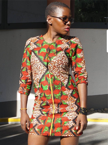 Handmade African Fabric Dress