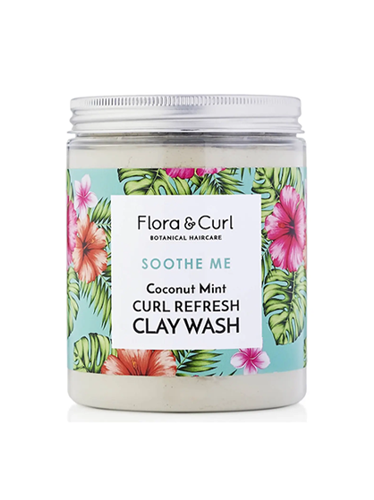 Coconut Mint Curl Refresh Clay Wash
