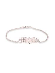 Personalized Nameplate Pendant Bracelet