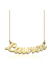 Personalized Nameplate Pendant Necklace